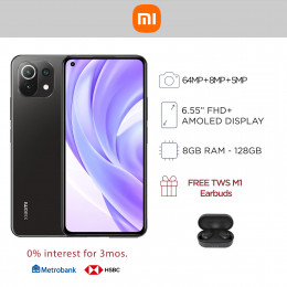 Xiaomi Mi 11 Lite Mobile Phone 6.55-inch Screen 8GB RAM and 128GB Storage